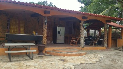 36390 - venta finca - Se vende casa con terreno gorgona 1500 mts ideal para hostal