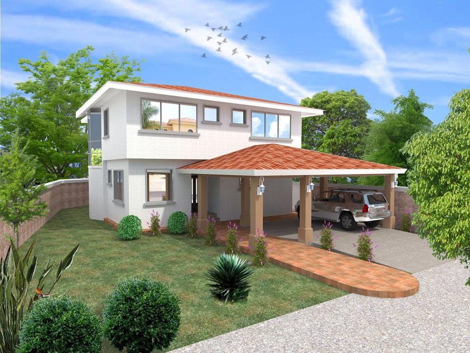 Proyecto de casa unifamiliar de dos pisos en altos del - Proyecto casa unifamiliar ...